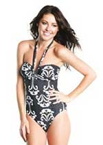 Model in swimwear