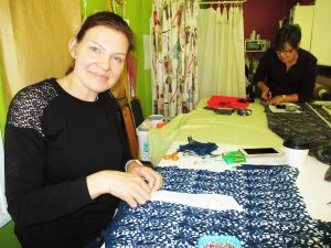 Working with Lace - Gemma